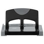 Swingline 3-Hole Punch, SmartTouch, Low Force, 45/ST Capacity Black