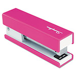 Swingline® Half Strip Fashion Stapler, Pink