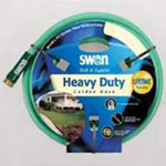 "Swan Soft and Supple Garden Hose, 5/8"" x 50', with Standard Water Threads, Reinforced Vinyl/Rubber"