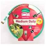 "Swan Weather Flex Garden Hose, 5/8"" x 75', with Standard Water Threads, Reinforced, Kink Resistant"