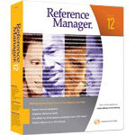 ISI ResearchSoft Reference Manager ( V. 12 ) Complete Package
