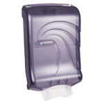 San Jamar Ultrafold™ Ultrafold™ Wall Mount C-Fold / Multi-Fold Paper Towel Dispenser, Black