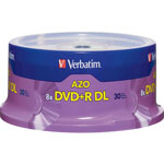 Verbatim DVD+R DL X 30 - 8.5 GB - Storage Media