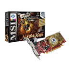 MSI N8400GS-TD512 - Graphics Adapter - GF 8400 GS - 512 MB