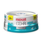 Maxell CD-R x 25 - 700 MB - storage media