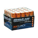Ultralast Batteries Alkaline UL20AAVP - battery - AA - alkaline x 20