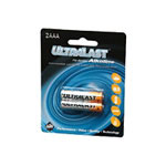 Ultralast Batteries Alkaline ULA2AAA - battery - AAA - alkaline x 2