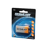Ultralast Batteries Alkaline ULA9V - battery - 9V - alkaline