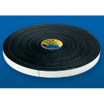 "1"" x 36 Yards #4408 Black Polyurethane Foam Tape 1/8"" Thickness"