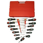 T and E Tools 16 Piece Pro-Line Master Screwdriver Set