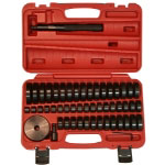 T and E Tools 50 Piece Custom Bush, Bearing, and Seal Driver Set