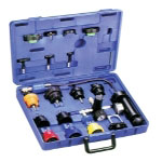 T and E Tools Deluxe Radiator Tank Pressure Test Kit