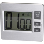 Tatco 52410 Digital Timer, Silver/Black