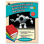 Teacher Created Resources Differentiated Nonfiction Reading, Grade 6, 96 Pages