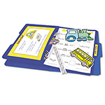 Teacher Created Resources Yellow Letter Size Stor-It File Folders, 1/3 Cut, Card Stock