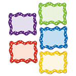 Teacher Created Resources Polka Dots Blank Card Accents, 6 1/4 x 5, Assorted Colors, 30/Pack