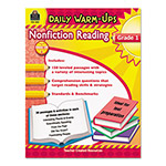 Teacher Created Resources Daily Warm-ups: Nonfiction Reading, Grade 1, 176 Pages