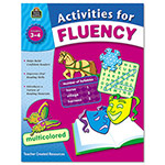 Teacher Created Resources Activities For Fluency, Grades 3 - 4
