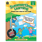 Teacher Created Resources Summertime Learning, Reading, Writing, Math, Grade 1, 112 Pages