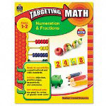 Teacher Created Resources Resources Targeting Math, Numeration & Fractions, Grades 1-2