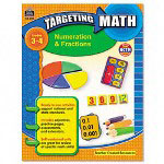 Teacher Created Resources Resources Targeting Math, Numeration & Fractions, Grades 3-4