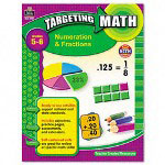 Teacher Created Resources Resources Targeting Math, Numeration & Fractions, Grades 5-6