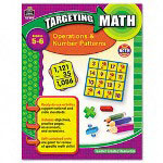 Teacher Created Resources Resources Targeting Math, Operations/Number Patterns, Grade 5-6