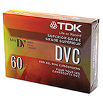 TDK Mini Digital Video Cassette, 60 Minutes