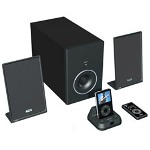 Teac America TEAC Speaker System with iPod Dock, Black