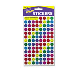 Trend Enterprises Sparkle Smile Stickers, Variety Pack, 1300 Colored Stickers