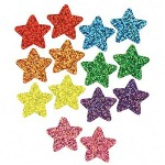 Trend Enterprises Supershapes Stickers Variety Pack, 1300 Star