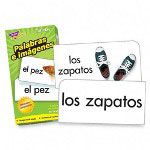 Trend Enterprises Flash Cards, Spanish, Picture Words, 96/BX
