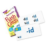 "Trend Enterprises Flash Cards, Word Family skill building, 3""x6"""