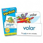 Trend Enterprises Flash Cards, Spanish, Action Words, 94/BX
