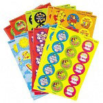 Trend Enterprises Seasons/Holidays Stinky Stickers, Round, Acid Free, 432/Pack