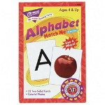 Trend Enterprises Alphabet Match Me Flash Cards, For Ages 6 And Up