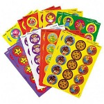 Trend Enterprises Fun/Fancy Stinky Stickers, Jumbo, Round, Acid Free, 432/Pack