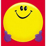 "Trend Enterprises Smiley Face Note Pad, 5""x5"", 50 sheets"