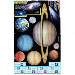 Trend Enterprises Solar System Bulletin Board, English/Spanish