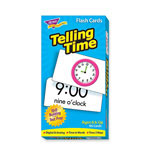 Trend Enterprises Telling Time Flash Cards