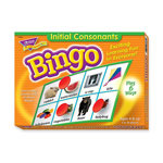 Trend Enterprises Initial Consonants Bingo Game with Mats and 36 Cards