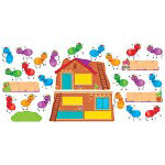 "Trend Enterprises Bulletin Board Set, ""Busy Ant Job"", Assorted"