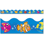 "Trend Enterprises Bolder Borders and Terrific Trimmers, Sea Buddies, 2 1/4"" x 39 ft"