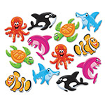 Trend Enterprises Classic Accents Variety Pack, Sea Buddies, 6 x 7.88
