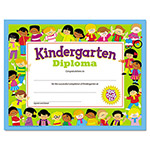 Trend Enterprises Colorful Classic Certificates, Kindergarten Diploma, 8 1/2 x 11, 30 per Pack