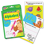 Trend Enterprises Two-Sided Wipe-Off Cards, Alphabet, 32 Cards