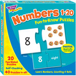 Trend Enterprises Fun to Know Puzzles, Numbers 1-20
