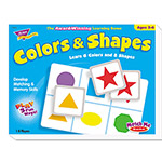 Trend Enterprises Colors and Shapes Match Me® Game, Ages 4-7