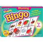 Trend Enterprises Rhyming Bingo Game, Includes 36 Playing Cards/over200 Chips