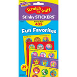 Trend Enterprises Stinky Stickers Variety Pack